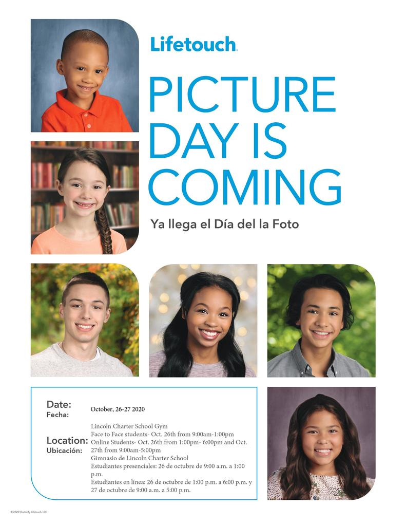 Picture Day Is Coming